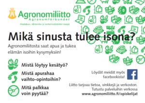 Agronomiliiton jäsenyys